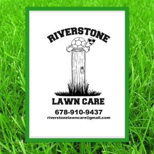 Riverstone Lawn Care Logo