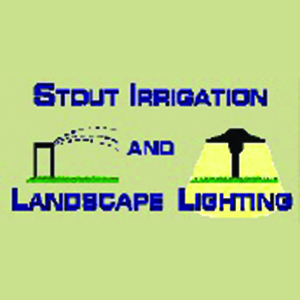 Stout Irrigation and Landscape Lighting Logo
